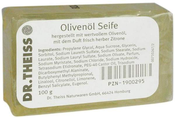 Dr. Theiss Olivenöl Seife 100 g