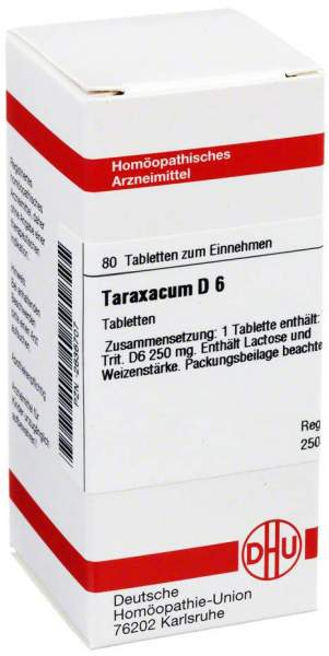 Taraxacum D6 Tabletten 80 Tabletten