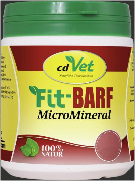 Fit-Barf Micromineral 500 Gramm Pulver