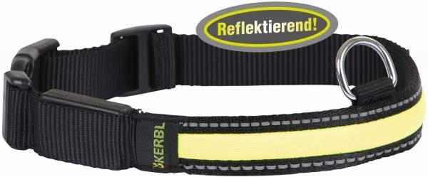 Light & Reflex Leuchthalsband 36-51 cm
