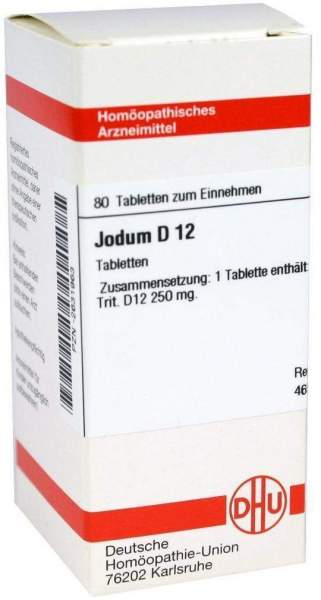 Jodum D 12 80 Tabletten
