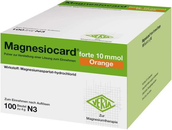 Magnesiocard Forte 10 Mmol Orange 100 Beutel