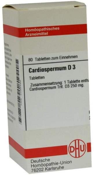 Cardiospermum D 3 80 Tabletten