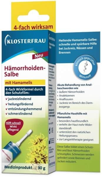Klosterfrau Hämorrhoiden Salbe 30 g