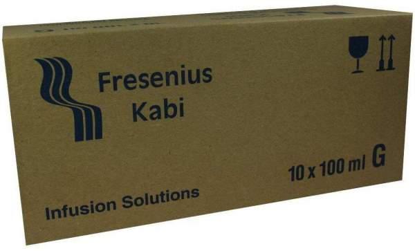 Natrium Hydrogencarbonat 8,4% Glasflasche 10 X 100 Ml...