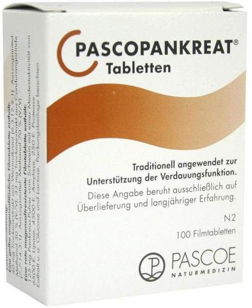 Pascopankreat 100 Tabletten