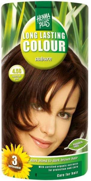 Hennaplus Long Lasting Colur Farbe Rot-Braun 4,56