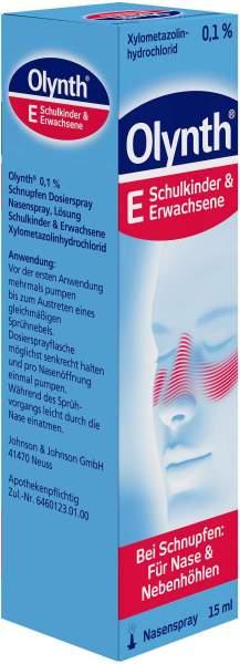 Olynth 0,1% Nasenspray für Erwachsene 15 ml