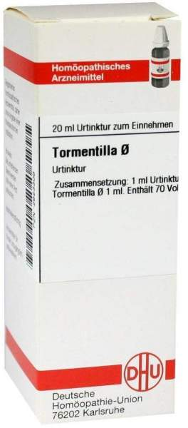 Tormentilla Urtinktur 20 ml Dilution