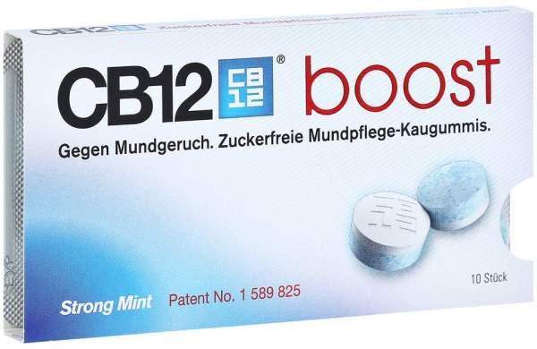 CB12 Boost Strong Mint 10 Kaugummis