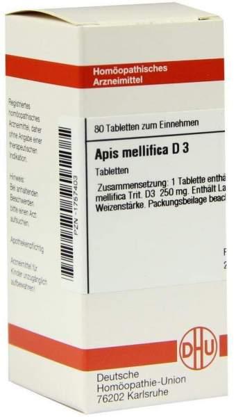 Apis Mellifica D3 80 Tabletten