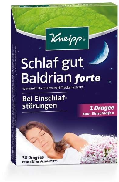 Kneipp Schlaf gut Baldrian forte 30 Tabletten
