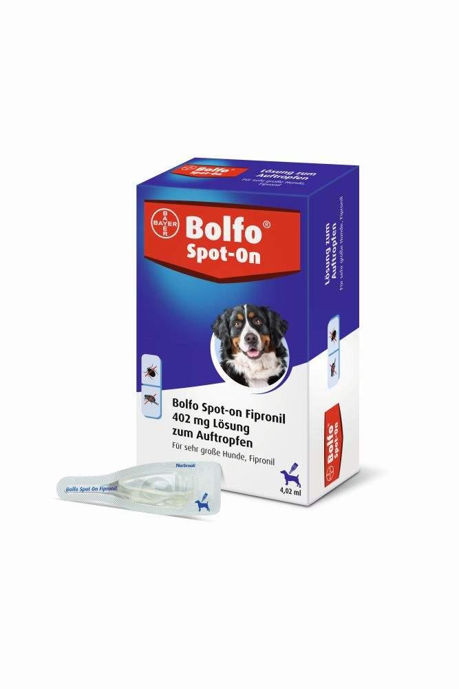 Bolfo Spot On für sehr große Hunde bis 60 kg 3 ...