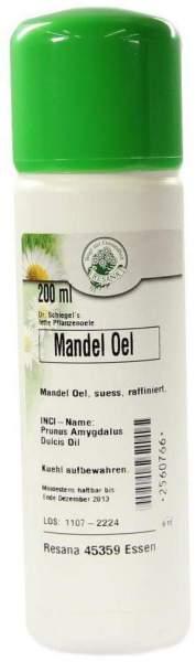 Mandelöl süß raffiniert 200 ml Öl