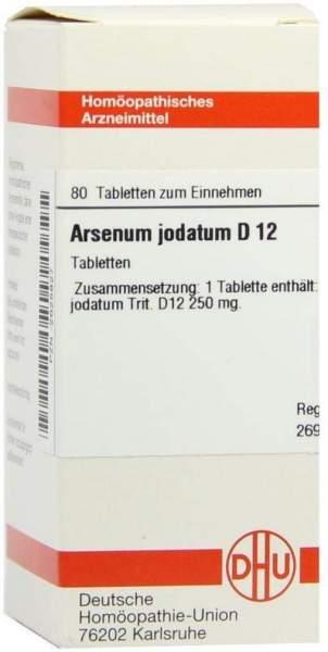 Arsenum Jodatum D 12 Tabletten