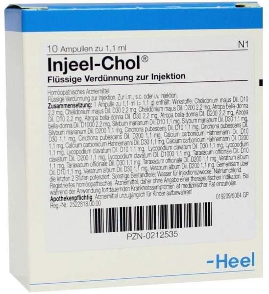 Injeel Chol 10 Ampullen