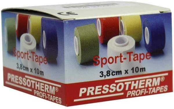 Pressotherm Sport Tape 3,8 cm X 10 M Gelb