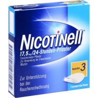 Nicotinell 17,5mg Pro 24-Stunden-Pflaster 7  Pflaster, transdermal