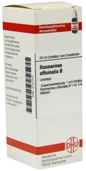 Dhu Rosmarinus Officinalis D1 Urtinktur