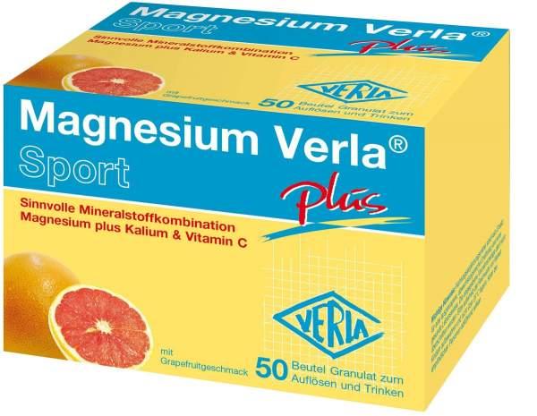 Magnesium Verla Plus 50 Granulat