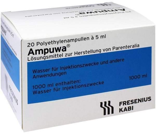 Ampuwa Plastikamp. Injektions-Infusionslösung