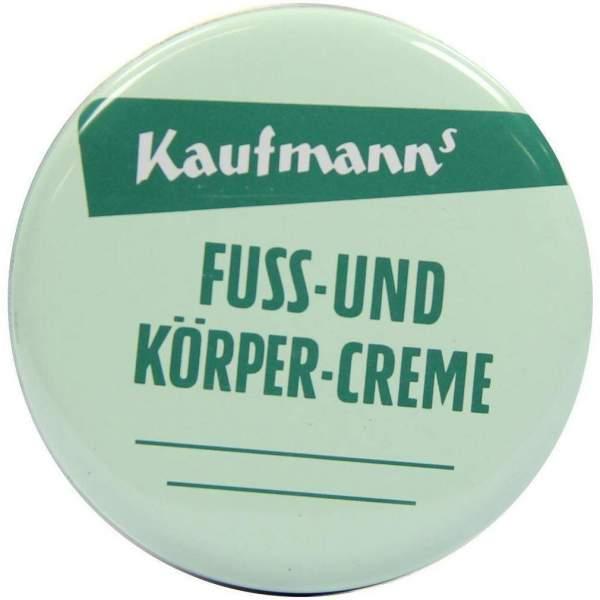 Kaufmanns Fuß- und Körpercreme 50 ml Creme
