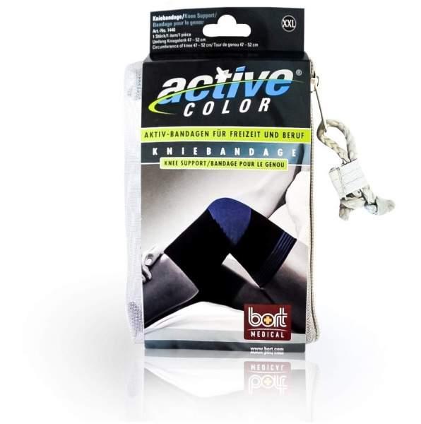 Bort Activecolor Kniebandage Xxl Schwarz 1 Bandage