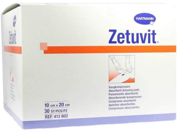 Zetuvit Saugkompresse unsteril 10 x 20 cm 30 Stück