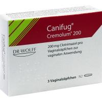 Canifug Cremolum 200 Vaginalsuppositorien 3 Stück