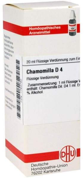 Dhu Chamomilla D4 Dilution