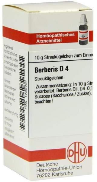 Berberis D 4 Globuli