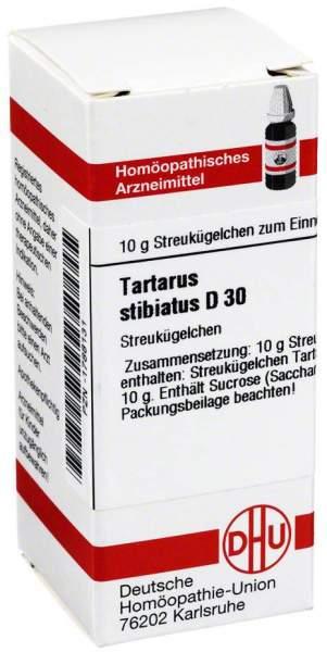 Tartarus Stibiatus D 30 Globuli
