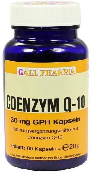 Coenzym Q10 30 mg Gph Kapseln 60 Kapseln