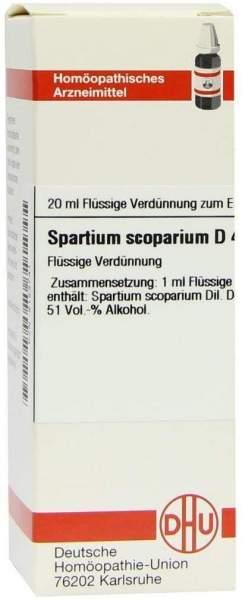 Spartium Scoparium D 4 20 ml Dilution