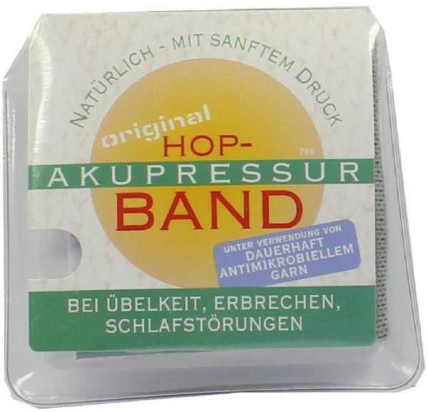 Hop Akupressur Band Für Erwachsene Hellgrau 2 Stück