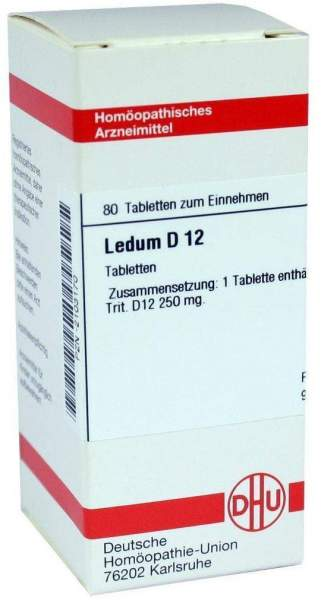 Ledum D 12 Tabletten
