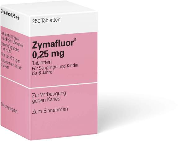 Zymafluor 0,25 mg 250 Tabletten