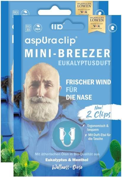 Aspuraclip Mini-Breezer Eukalyptus 2 x 2er Set