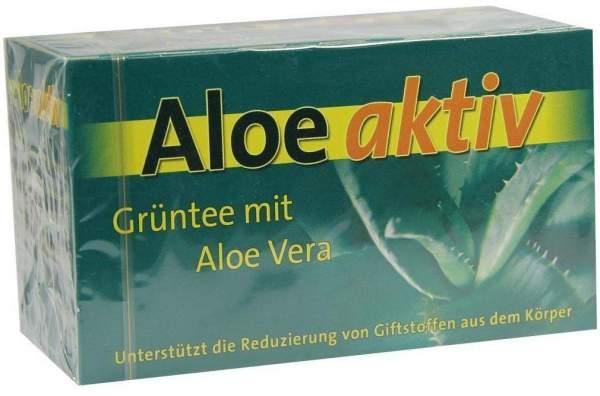 Aloe Aktiv Vitaltee Filterbeutel