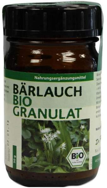Bärlauch Bio Dr. Pandalis 50 G Granulat