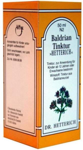 Baldriantinktur Hetterich 50 ml