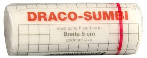 Draco Sumbi Fixierbinde 8 cm X 4 M 1 Binde