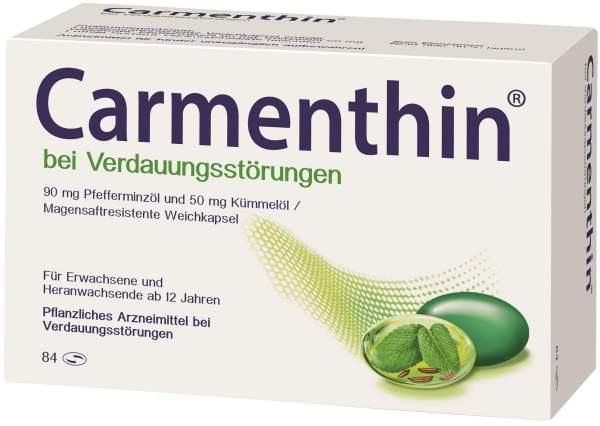 Carmenthin bei Verdauungsstörungen 84 magensaftresistente Kapseln