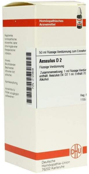 Aesculus D2 Dhu 50 ml Dilution