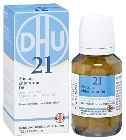 Biochemie DHU 21 Zincum chloratum D6 80 Tabletten