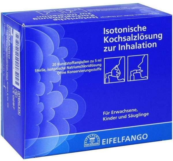 Isotonische Kochsalzlösung zur Inhalation 20 X 5 ml