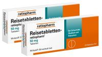 Reisetabletten ratiopharm 2 x 20 Tabletten Set
