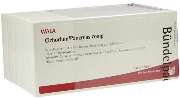 Wala Cichorium Pancreas Comp. Ampullen Set 50 X 1 ml