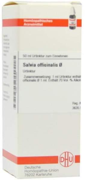 Salvia Officinalis Urtinktur 50 ml Dilution
