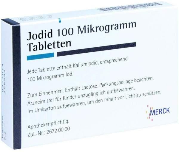 Jodid 100 100 Tabletten